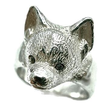 チワワ 犬 シルバー925 リング 指輪 ドッグ Dog ring 犬リング イヌリング Silver925XOuPkiZT