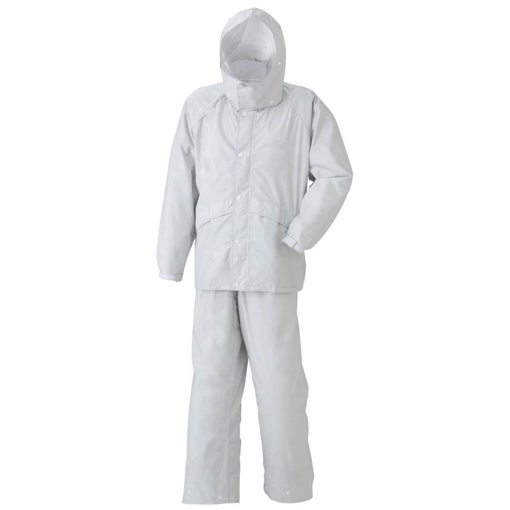 スミクラ 透湿 ストリートスーツ A-625シルバー LL