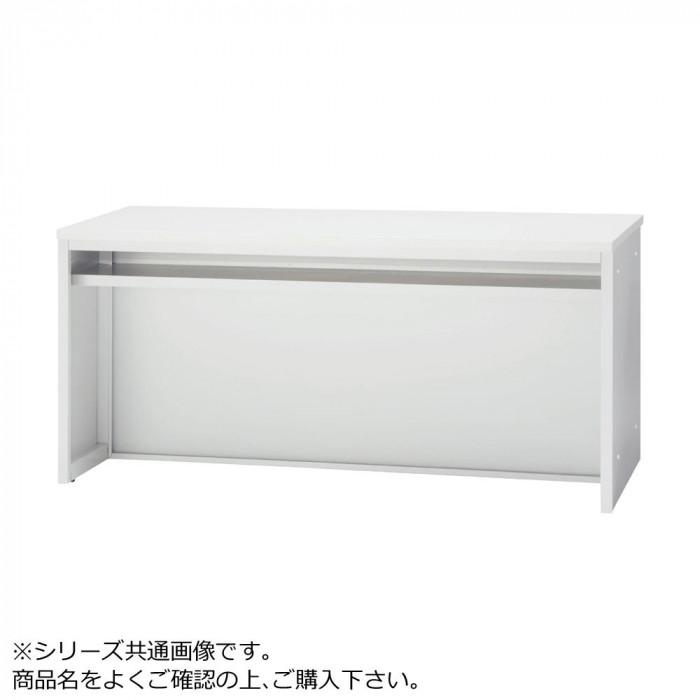 豊國工業 ローカウンター 木天板 W1760 CT-L18 メラミン:PR-TYW EG ホワイトグレー エッジ:SC40-3005 ホワイトグレー
