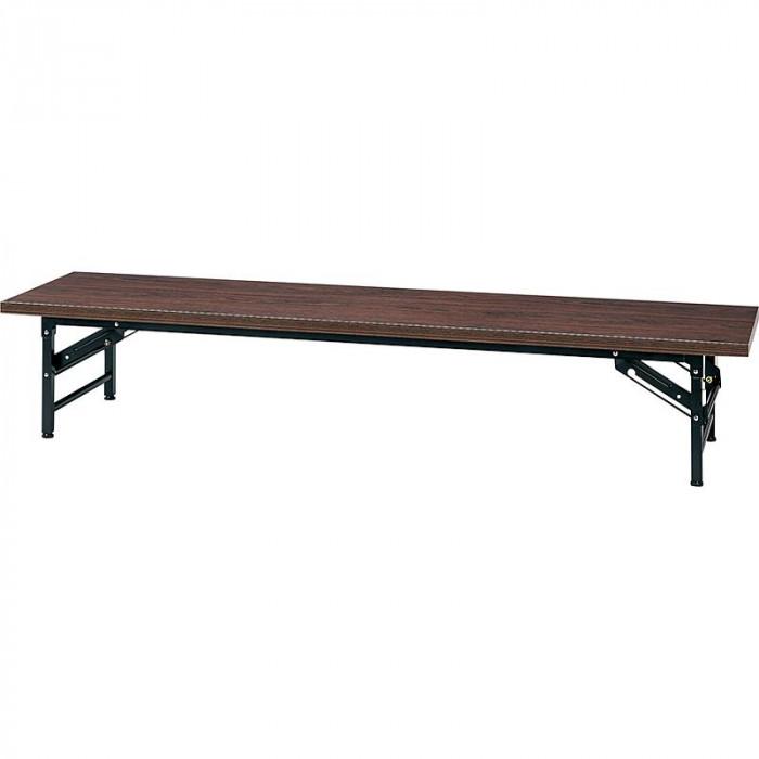 オフィス家具 ミーティングテーブル ロータイプ 180 45 33cm ローズ KL1845N-R