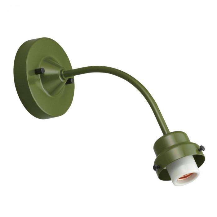 ビス止め65電柱型ブラケット 緑塗装 GLF-0269GR GLF-0269GR