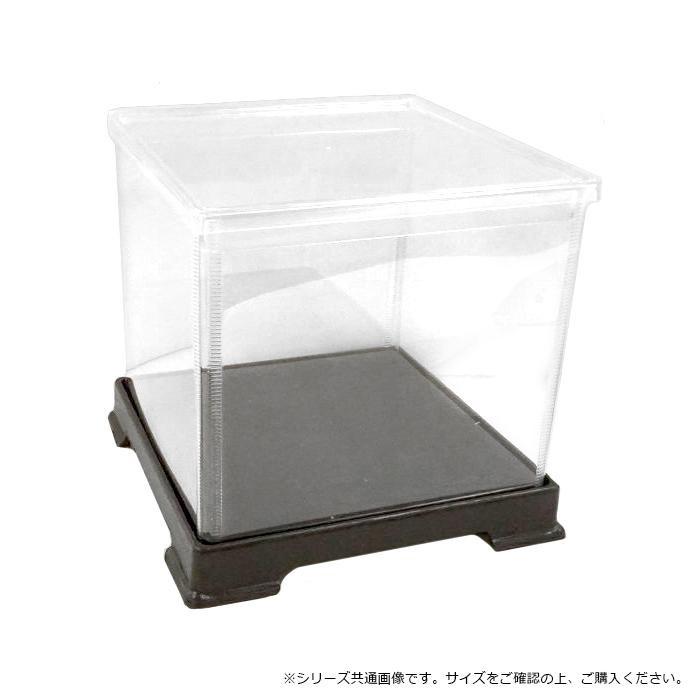 透明プラスチック角型ケース 27 27 32cm 4個セット