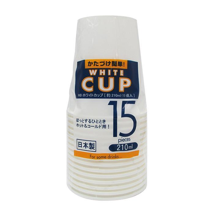 アートナップ WBホワイトカップ 210ml 15個 120 WB-53