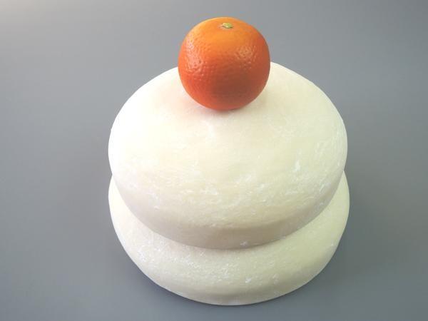 日本職人が作る 食品サンプル 鏡餅 2升5合 IP 176