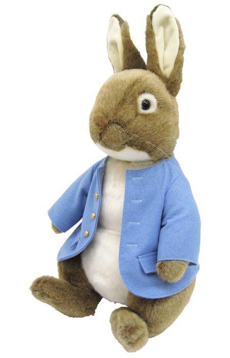 ウサギのおもちゃ 特大 ぬいぐるみ ピーターラビット グッズ 雑貨 2L
