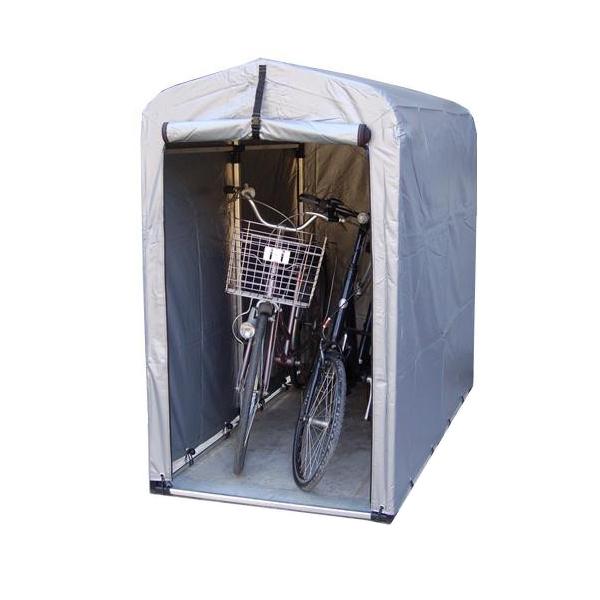 簡易サイクルガレージ サイクルハウス 自転車置き場 自宅 屋根 家庭用