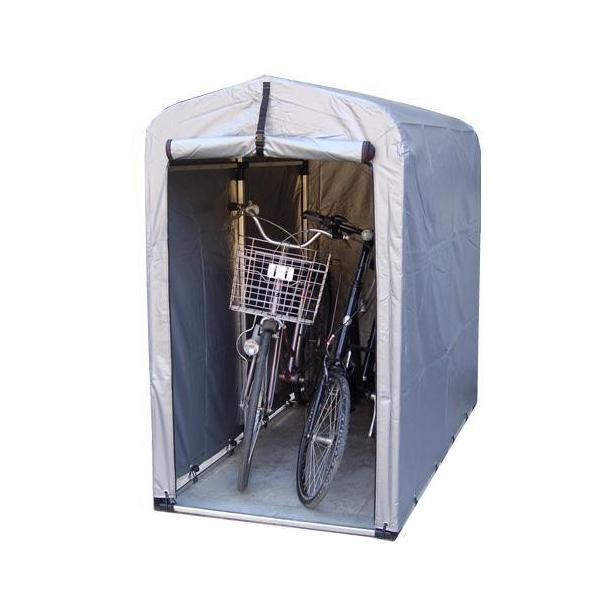 自転車置き場 サイクルガレージ カバー 家庭用自転車置き場 二台 屋根