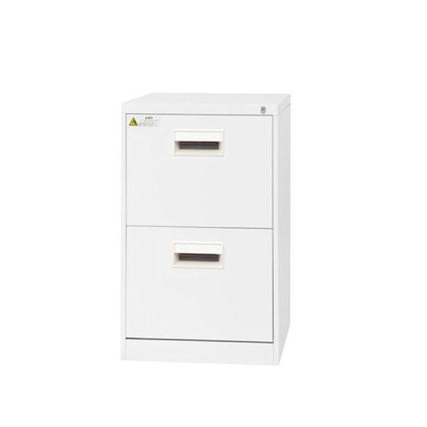 事務所棚 片付け 書類棚 書類整理棚 ファイルキャビネット 2段 B4サイズ