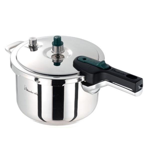 業務用圧力鍋 圧力鍋 使いやすい 5l ワンダーシェフ 片手圧力鍋