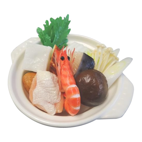 日本職人が作る 食品サンプル 鍋 寄せ鍋 IP 510