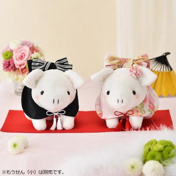 結婚式 ウェルカムドール ウェルカムぬいぐるみ ウェディングぬいぐるみ 豚