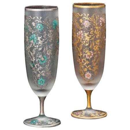 ビアグラス おしゃれ ペア ペアガラス ガラス ビアグラス 350ml以上