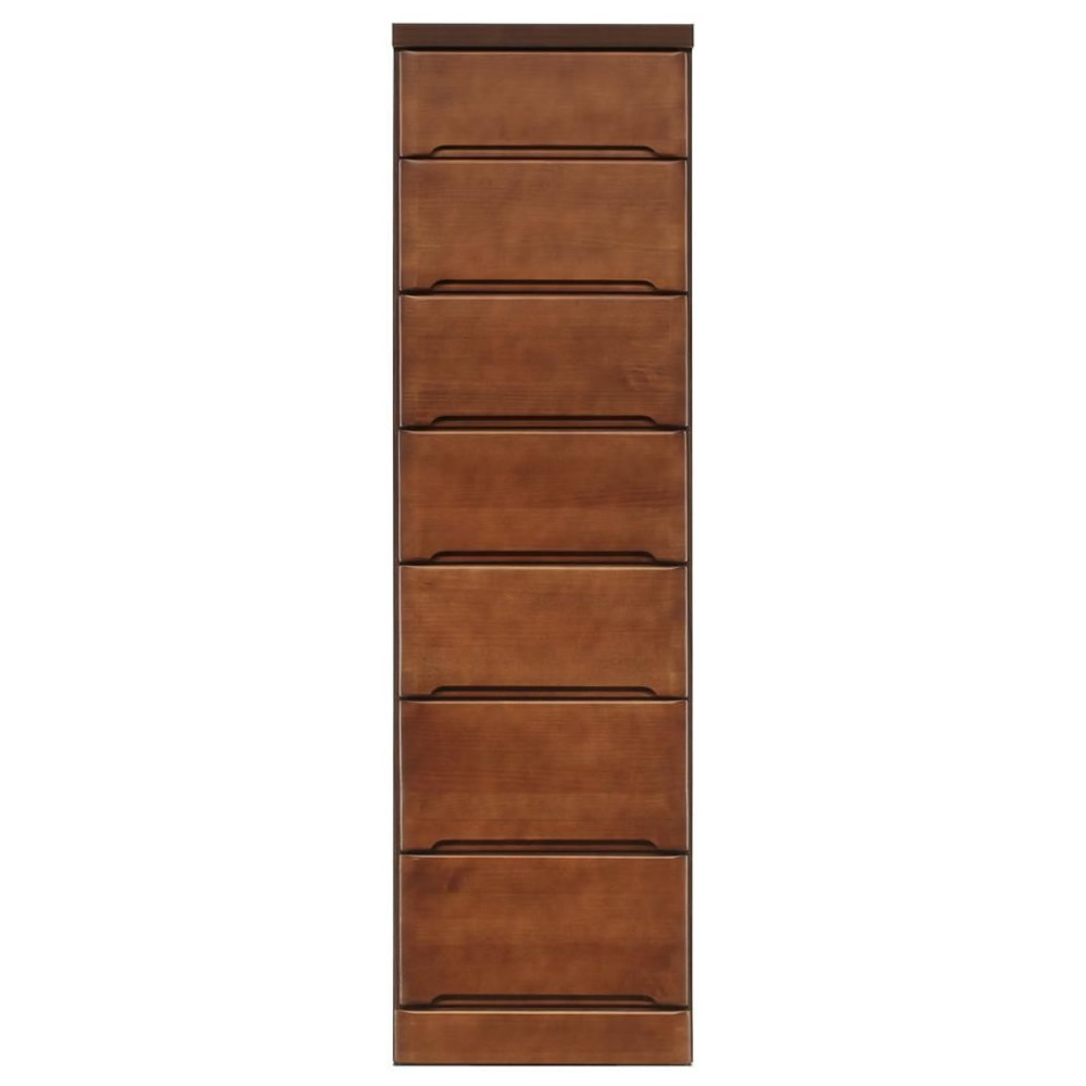 木製 隙間収納 40cm 隙間収納棚40cm 引き出しタイプ 7段