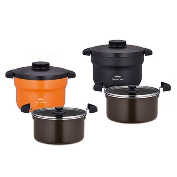 サーモス 保温調理鍋 保温調理なべ 真空保温調理鍋 ステンレス鍋 2.8L