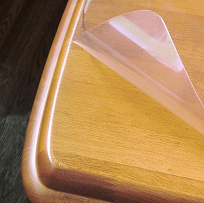 テーブルマット 透明 80cm幅 テーブルマット 透明 厚さ2mm 135cm