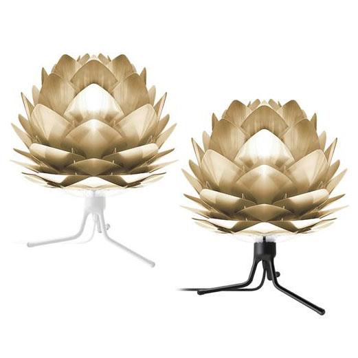 【セール 登場から人気沸騰】 ELUX(エルックス) VITA(ヴィータ) Silvia mini brushed brass(シルヴィアミニブラッシュドブラス) ELUX(エルックス) トリポッド brushed mini・ベース ホワイトベース・02071-TB-WH, 常呂郡:e073620d --- canoncity.azurewebsites.net
