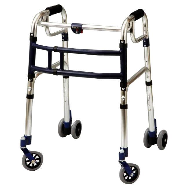 優羽 伸縮歩行器スライドフィット Lタイプ 室内 屋外兼用タイプ L-0194W