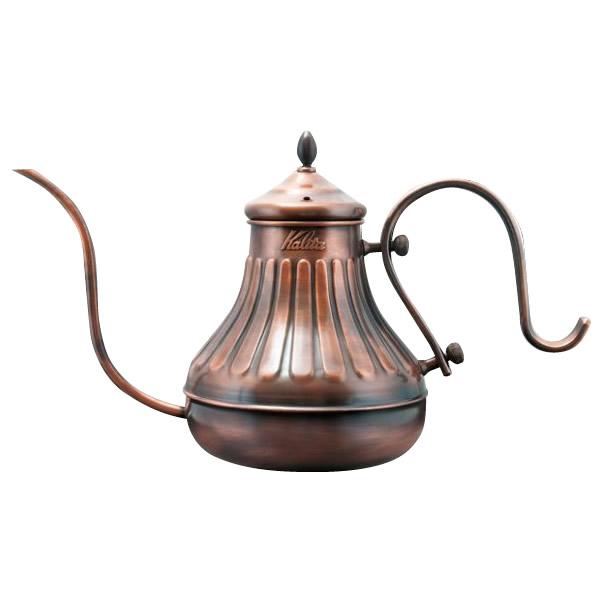 味わいをひときわ深める、カリタの銅製品。 銅ポット kalita カリタ 細口ポット ドリップ専用 調理用品 調理器具