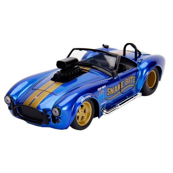 正規輸入品 Jada TOYS ミニカー 1:24 1965 Shelby Cobra 427 S/C Candy Blue 19938