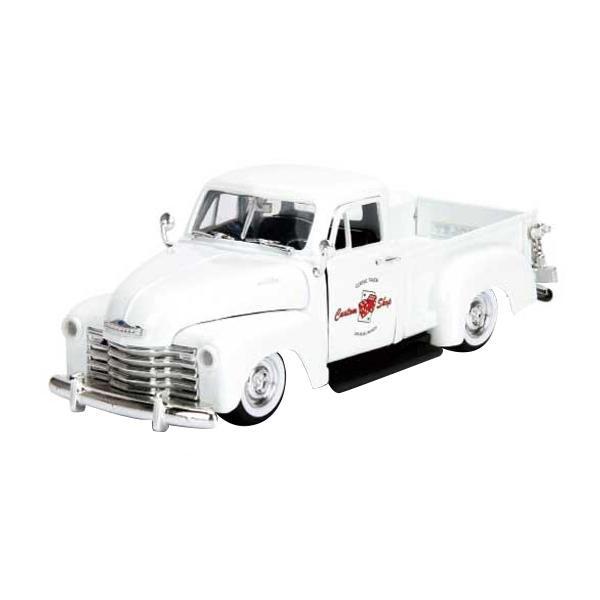 正規輸入品 Jada TOYS ミニカー 1:24 1953 CHEVY PICKUP White 19935