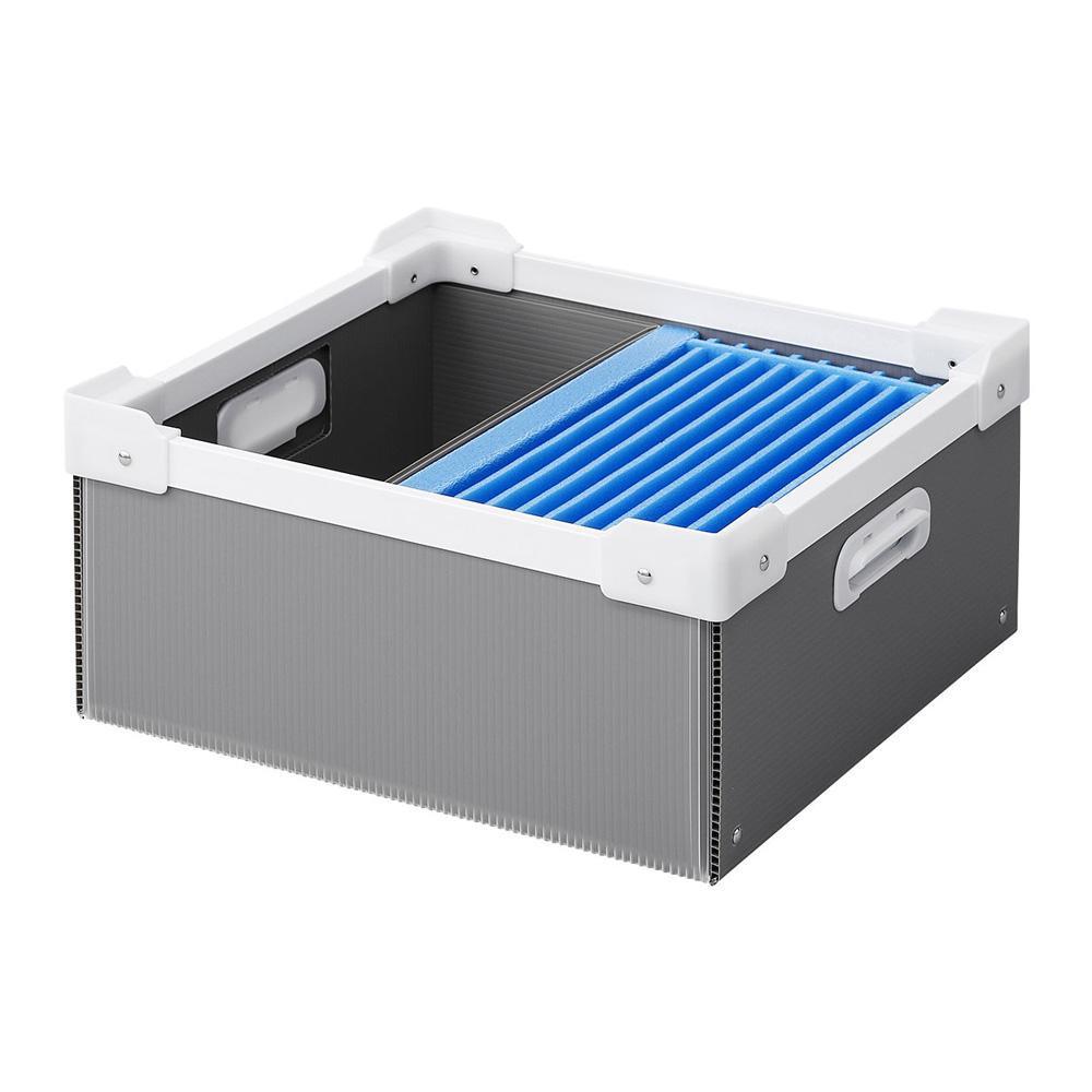 サンワサプライ プラダン製タブレット収納簡易ケース 10台用 CAI-CABPD43