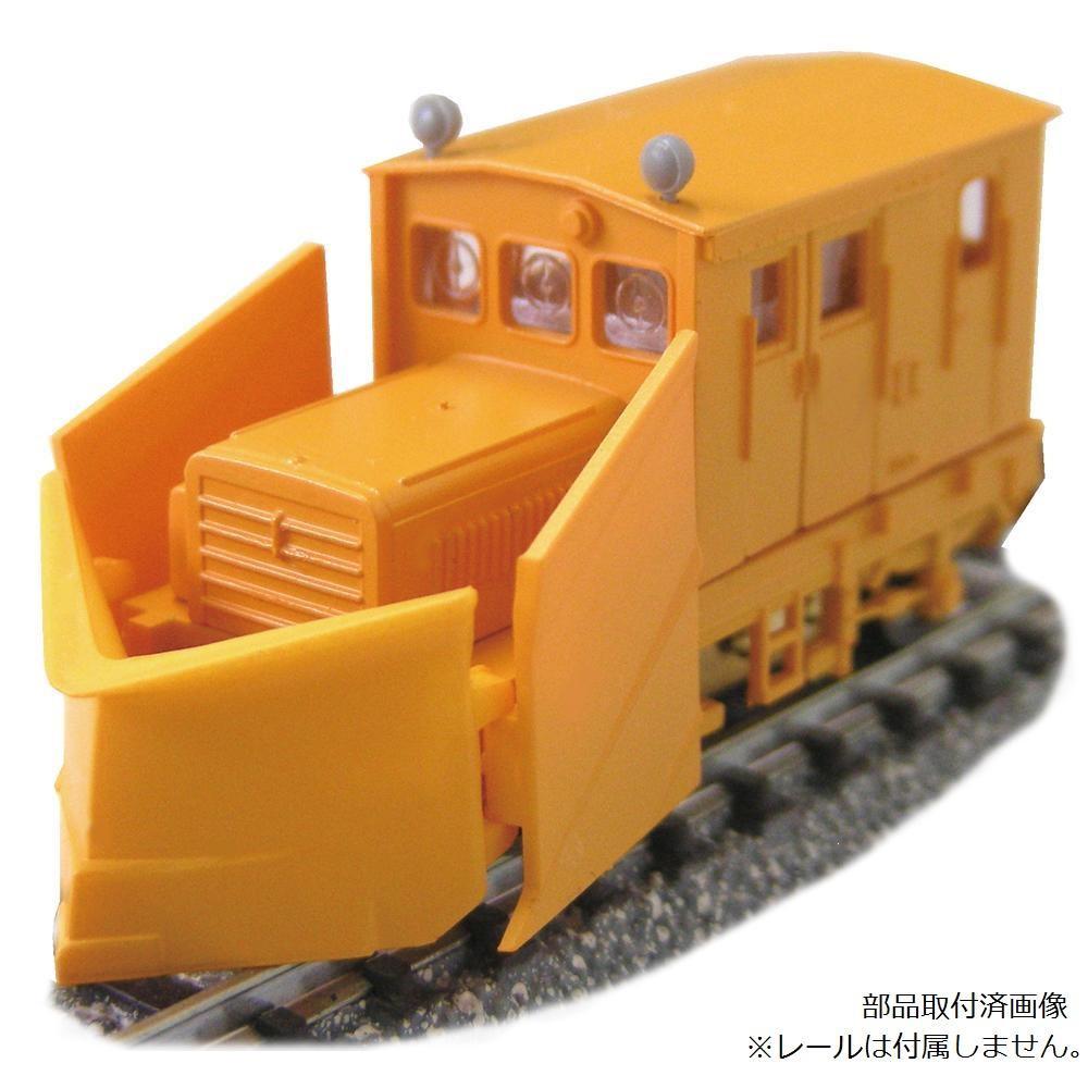 津川洋行 Nゲージ 車両シリーズ TMC100BS 3窓 動力付 車体色:オレンジ/ラッセルヘッド付 14025