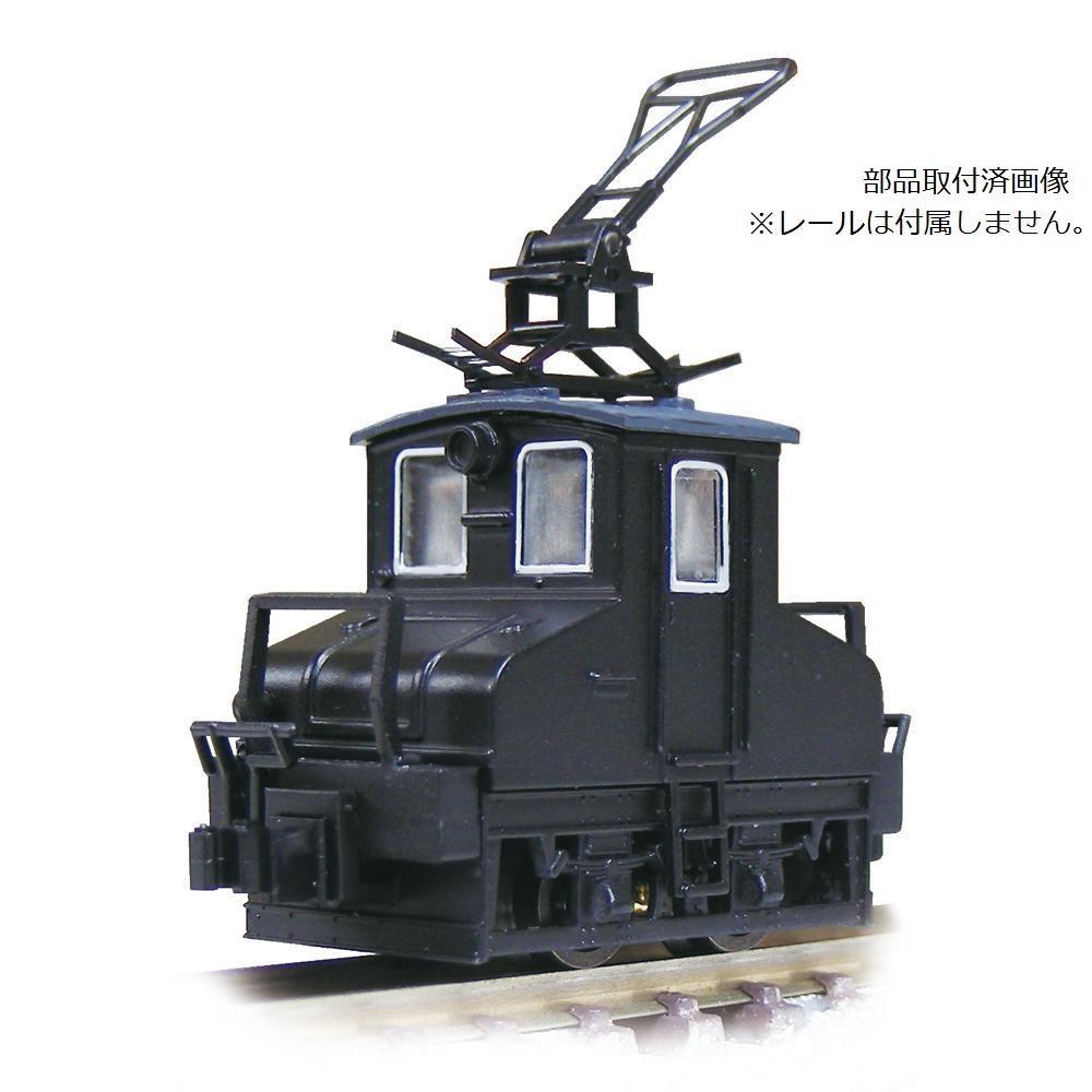 津川洋行 Nゲージ 車両シリーズ 銚子電気鉄道 デキ3 電気機関車 ビューゲル仕様/車体色:黒/動力付 14041