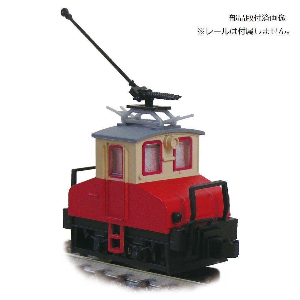 津川洋行 Nゲージ 車両シリーズ 銚子電気鉄道 デキ3 電気機関車 90周年トロリーポール仕様/車体色:赤電色/動力付 14045