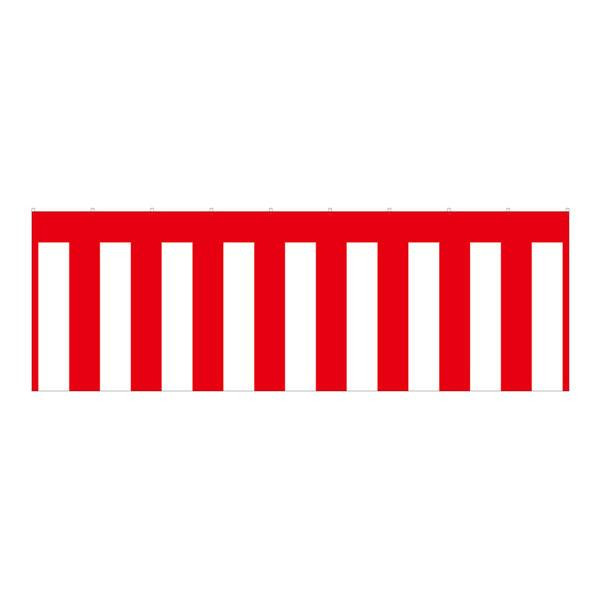 B紅白幕 23946 トロピカル 3間 H1800