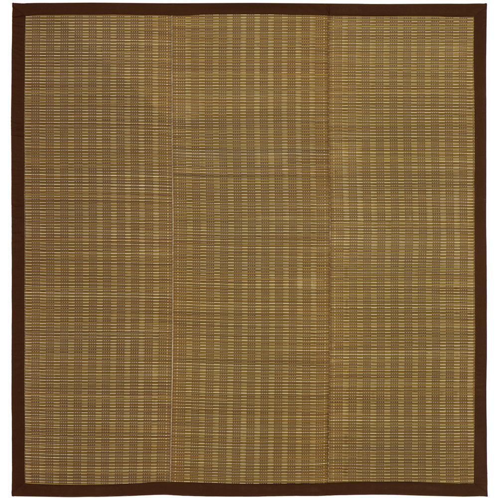 い草コンパクトラグ 裏貼り 仙名 せんな 約180×180cm ベージュ 81848410