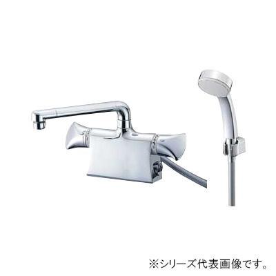 寒冷地用のサーモデッキシャワー混合栓。 三栄 SANEI U-MIX サーモデッキシャワー混合栓 寒冷地用 SK78011DS9K-13