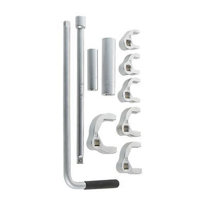 ワンホール混合栓・立水栓取付用の立水栓締付工具セット。 三栄 SANEI 立水栓締付工具セット R3510S