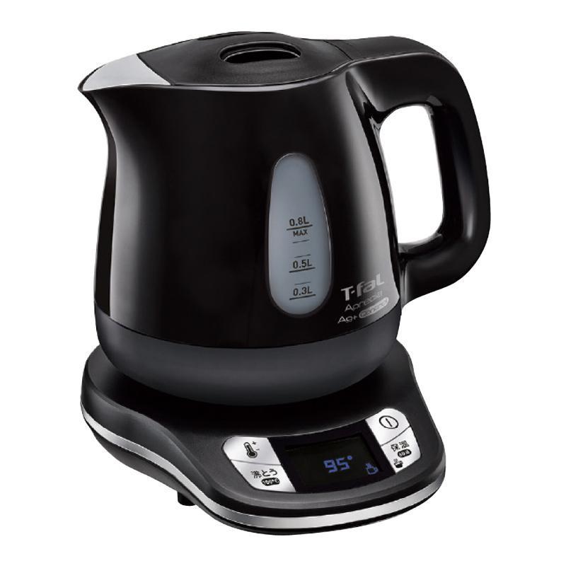 電気ケトル 保温機能付き 湯沸かし器 電気 湯沸かしポット 保温 0.8L