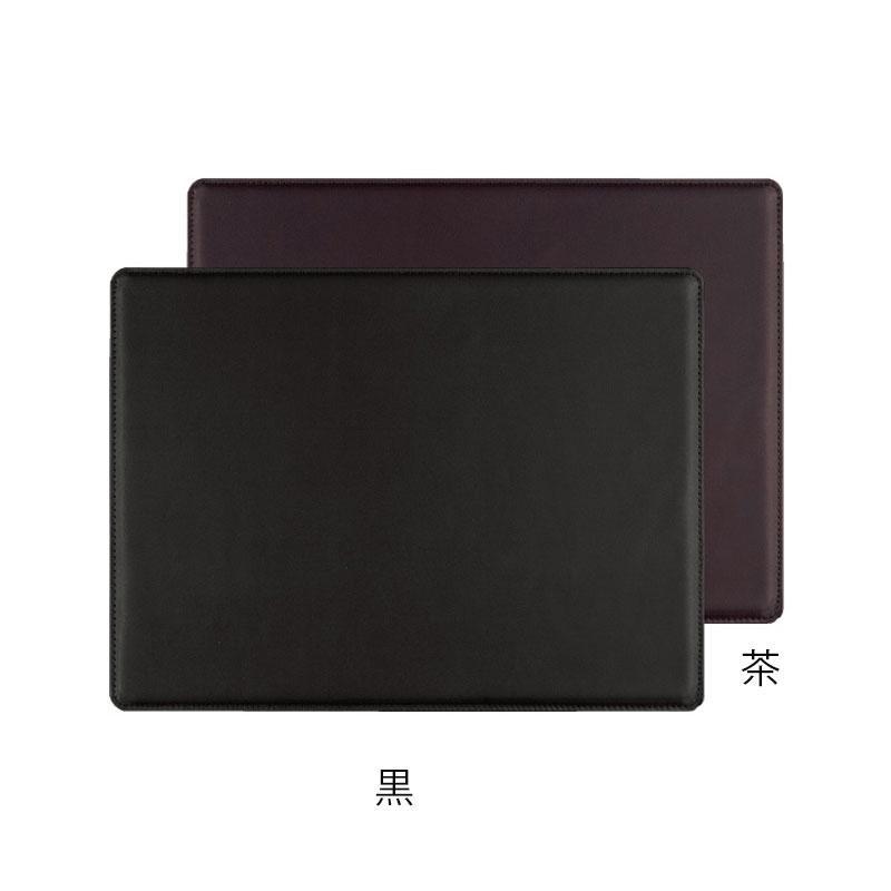 本革製デスクマット 大 SS-7 大 黒