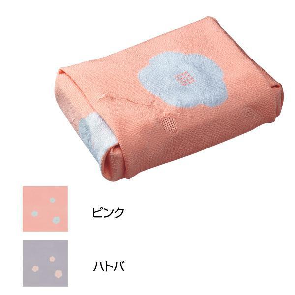 宮井 ふろしき 絹68cm幅 香梅 ピンク・11-4816-15