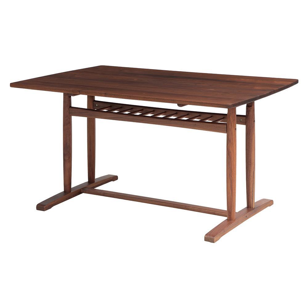 ダイニングテーブル 4人掛け 4人 ウォールナット テーブル 120cm