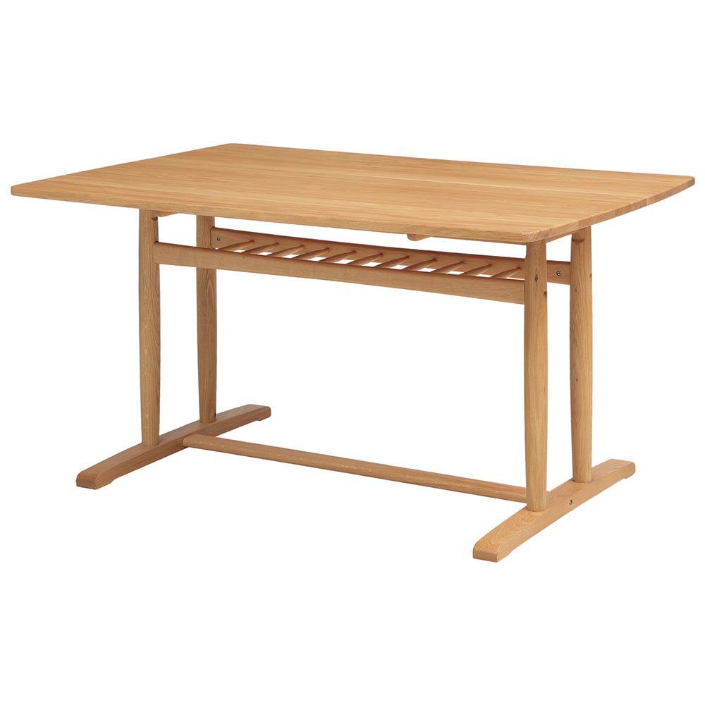 ダイニングテーブル 4人用 オーク材テーブル 4人掛けテーブル おしゃれ