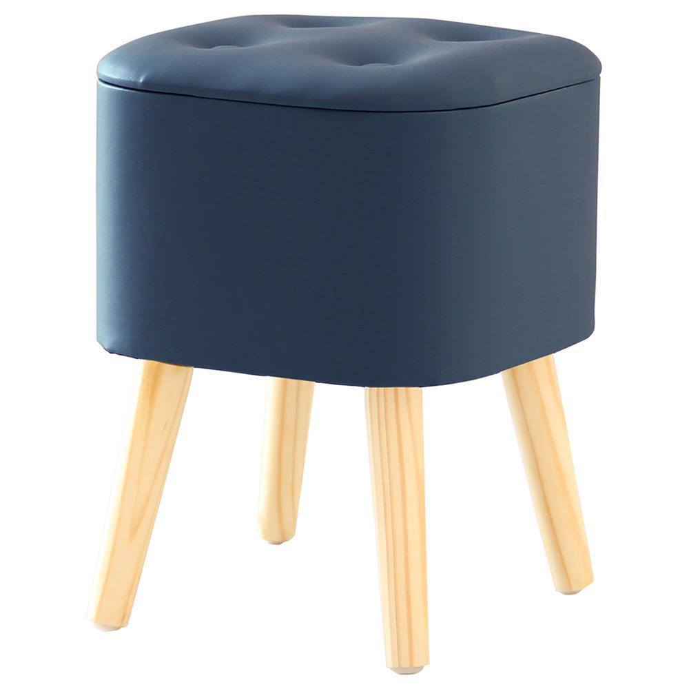 スツール 収納 座れる 脚付き収納スツール 脚付きスツール 収納椅子