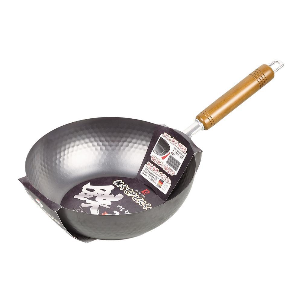 パール金属 軽くてサビにくい鉄のいため鍋24cm HB-4289