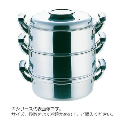 PE18-0丸型蒸器 2段 27cm 033008-002