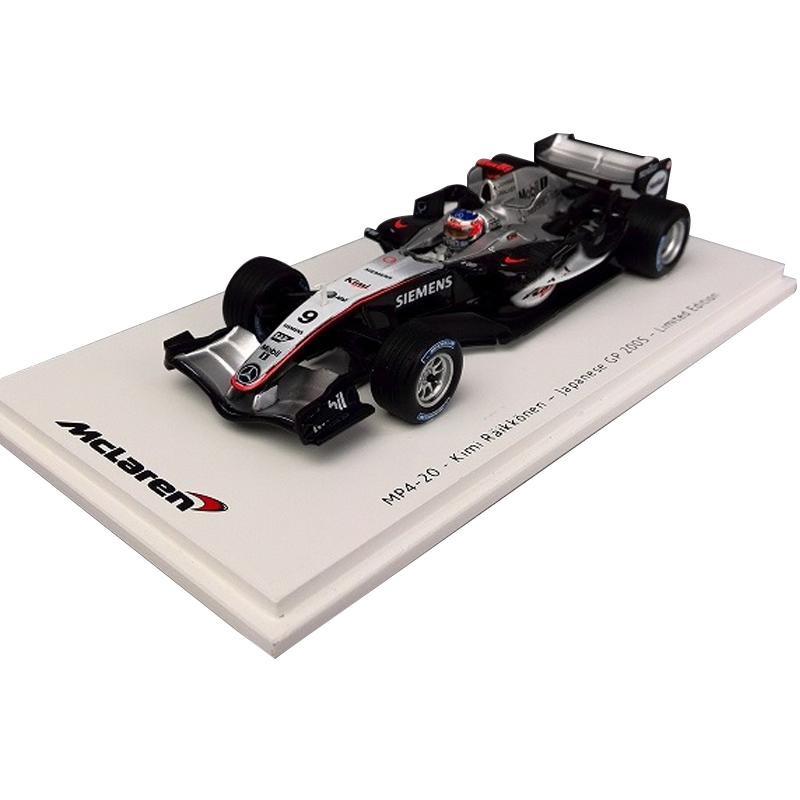 Spark/スパーク マクラーレン MP4-20 2005 日本GP優勝 ♯9 キミ・ライコネン 1/43スケール VMM1376