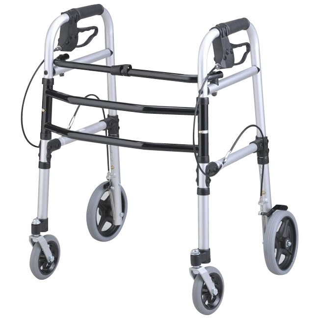 折りたたみ 歩行器 リハビリ 折りたたみ歩行車 屋内用歩行車 四輪 歩行車