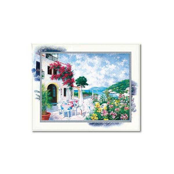 ユーパワー Masterpiece Art ビッグアート ピーター モッツ オーシャン テラス Lサイズ BA-10056