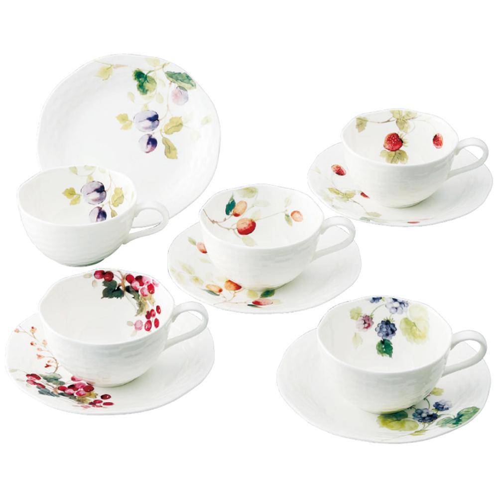 コーヒーカップセット 5客 カップアンドソーサー 5客 カップ&ソーサー
