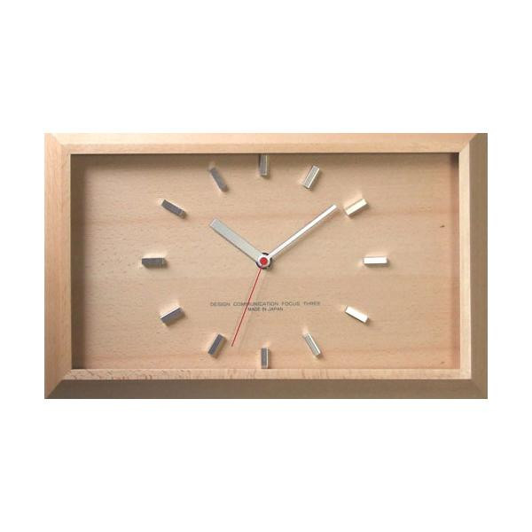 黄金比の時計 電波時計 ナチュラル V-0046