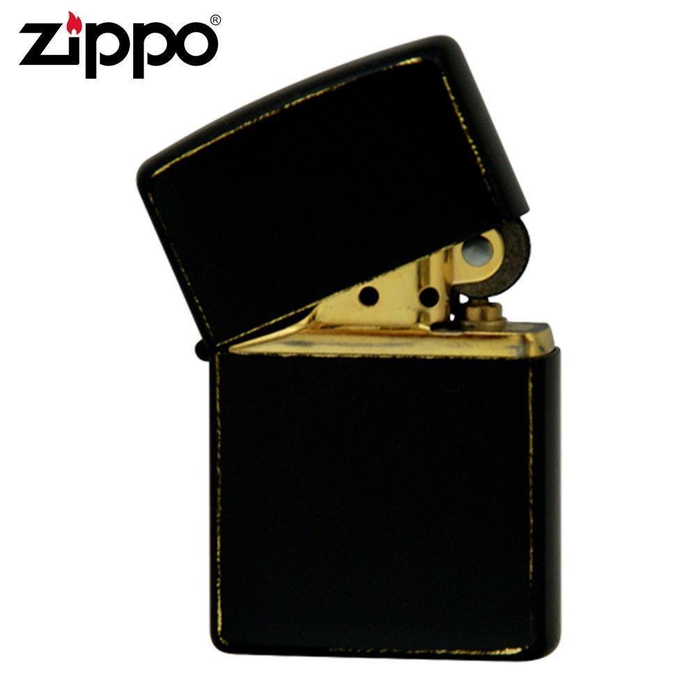 ZIPPO ジッポー オイルライター BRASS BLACK