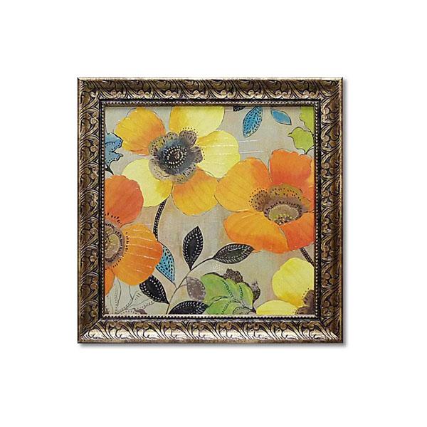 花の絵画 インテリア 黄色い花の絵画 絵画 花の絵 黄色 アイスランド
