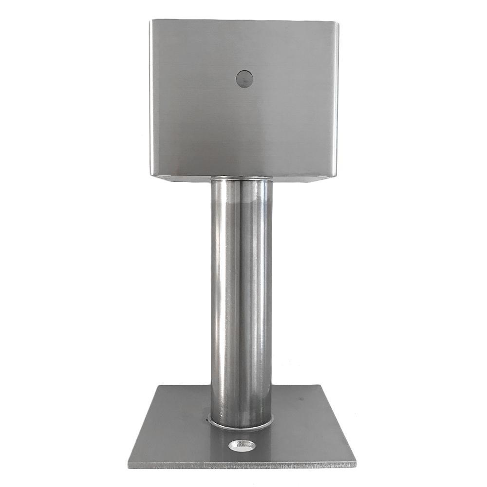 KGY ケイ ジー ワイ工業 ステンレス柱受 ボルト式 100角 HH6-100BK