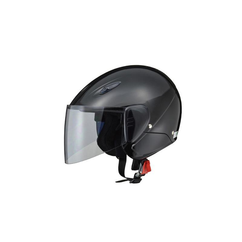リード工業 SERIO セミジェットヘルメット ブラック フリーサイズ RE-35