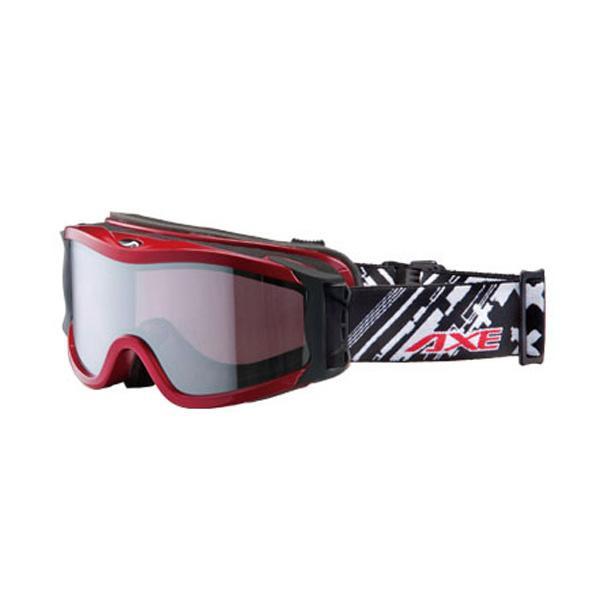 AXE アックス ユニセックス スキーゴーグル OMW-785 RE